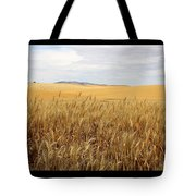 Palouse Wheat Fields Tote Bag