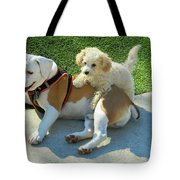 Pals - Linus And Buddy Tote Bag