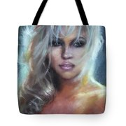 Pamela Anderson Tote Bag