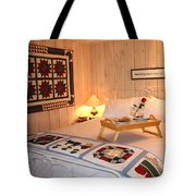 Pampered At The Loghouse Tote Bag