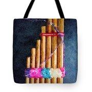 Pan Flute Tote Bag