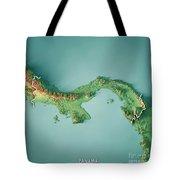 Topographic Map Of Panama.Panama 3d Render Topographic Map Border Digital Art By Frank Ramspott