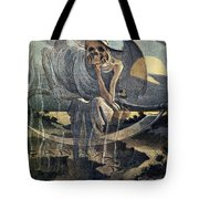 Panama Canal Cartoon, 1904 Tote Bag