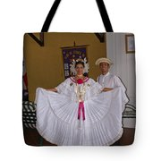Panama Greetings Tote Bag