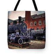 Panama Railroad Locomotive 299 Tote Bag