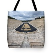 Panathenaic Stadium In Athens, Greece Tote Bag