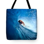 Pancho In The Tube Tote Bag