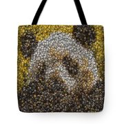 Panda Coin Mosaic Tote Bag