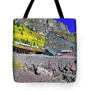 Pandora Mill - Telluride - Colorful Colorado Tote Bag