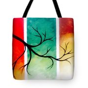 Panel Painting Tote Bag