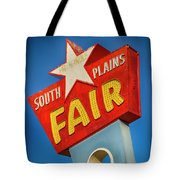 Panhandle South Plains Fair Sign Tote Bag