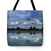 Pano Cambodia Lake  Tote Bag