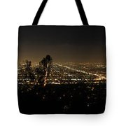 Pano From Griffeth Observatory  Tote Bag