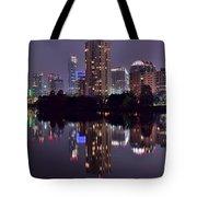 Pano Of Austin Tote Bag