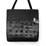Pano Of The Fort William Starch Company At Sunset Tote Bag
