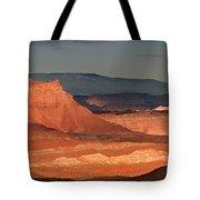 Panorama Dawn Light On The San Rafael Swell Utah Tote Bag