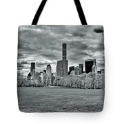 Panorama Of New York City Tote Bag