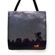 Panorama Of The Southern Night Sky Tote Bag