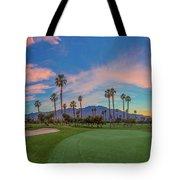 Panorama Palm Springs Golfing Tote Bag