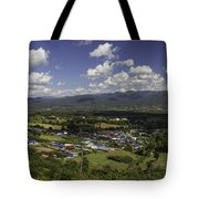 Panorama View Point Of Pai   Tote Bag