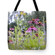 Panoramic Bouquet Tote Bag