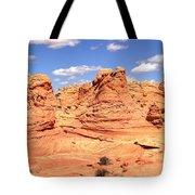 Panoramic Desert Landscape Fantasyland Tote Bag