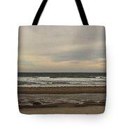 Panoramic Of Nantasket Beach Tote Bag