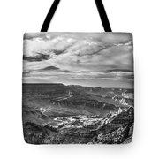 Panoramic Of The Grand Canyon Tote Bag