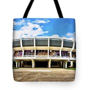 Panoramic P Mac Tote Bag