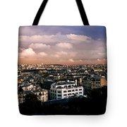 Panoramic Paris Sky.  Tote Bag