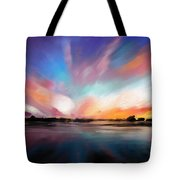 Panoramic Seascape Tote Bag