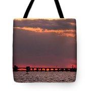 Panoramic Sunset 3-18-2016 V2 Tote Bag