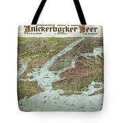 Panoramic View Of New York City And Vicinity - 1912 Tote Bag