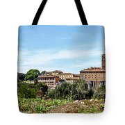 Panoramic View Of Rome Tote Bag
