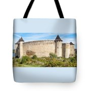 Medieval Ukrainian Fortress Tote Bag