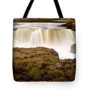 Panoramic Waterfall Manitoba Tote Bag