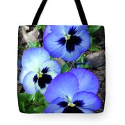 Pansies 0823 Tote Bag
