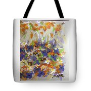 Pansies And Lillies Tote Bag