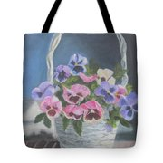 Pansies For A Friend Tote Bag