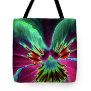 Pansy 01 - Photopower - Thoughts Of You Tote Bag