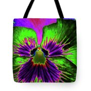 Pansy 06 - Photopower - Thoughts Of You Tote Bag