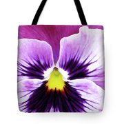 Pansy 07 - Thoughts Of You Tote Bag
