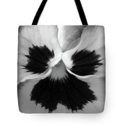 Pansy 09 Bw - Thoughts Of You Tote Bag