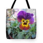 Pansy Perfection Tote Bag