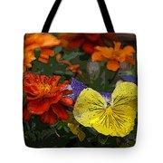 Pansy Play Tote Bag