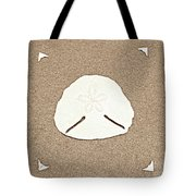 Full Pansy Shell Tote Bag