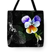 Pansy Statement Tote Bag