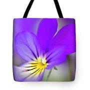 Pansy Violet Tote Bag