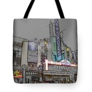 Pantages Theater Hollywood Tote Bag