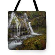 Panther Creek Falls In Autumn Tote Bag